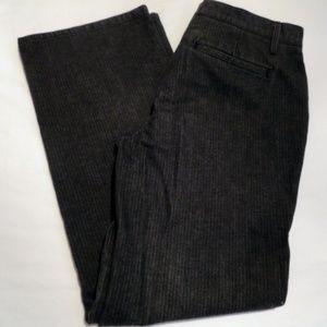 Talbots Black Pinstripe Jeans - 4 Pet.